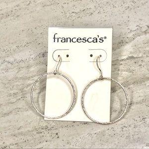 Francesca's Fashion Hoop Earrings